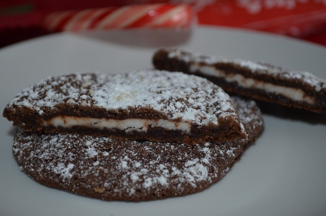 Chocolate Peppermint Patty Cookies | Nature and Life Notes