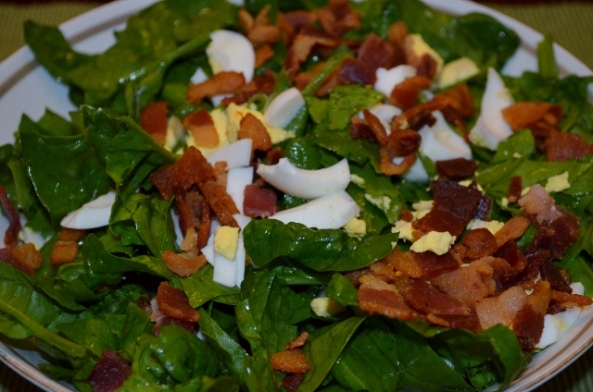 Spinach salad (640x424)