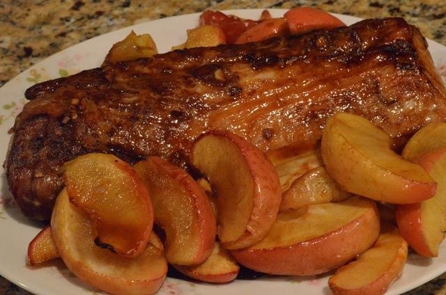 pork and apples resized